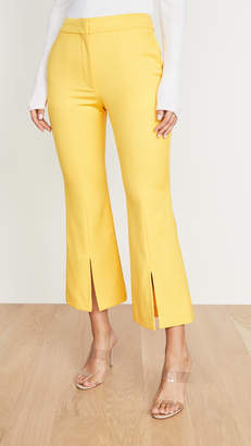 ADAM by Adam Lippes Tropical Bell Crop Trousers
