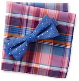 Original Penguin Hammond Dot Bow Tie & Pocket Square Set