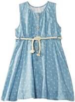 Pumpkin Patch Girl's Miami Heat Pinapple Print Dress