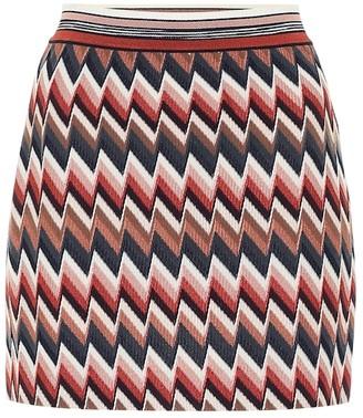Missoni Chevron-knit miniskirt