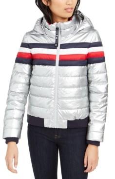 Tommy Hilfiger Foil Puffer Coat