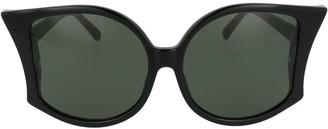 Linda Farrow Lerretta Winged Sunglasses
