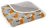 Milkbarn Print Stroller Blanket