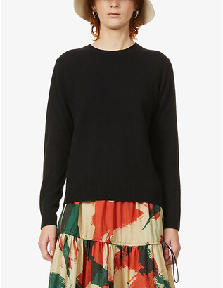 Benetton Crew-neck cashmere jumper