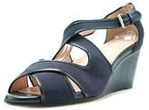 Taryn Rose Kinza Women Open Toe Synthetic Wedge Sandal.