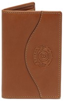 Ghurka Men's Ghukra Folding Leather Card Case - Beige