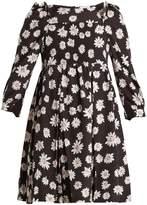 Balenciaga Long-sleeved baby doll dress