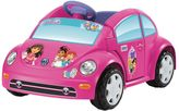 Fisher-Price Power Wheels Dora and Friends Volkswagen New Beetle by