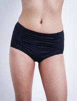 Seafolly Goddess ruched bikini shorts