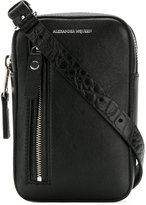 Alexander McQueen - small biker pouch - men - Leather - One Size