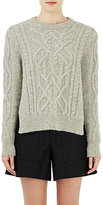 Isabel Marant Women's Cable-Knit Gayle Sweater-GREY