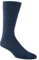 Calvin Klein Giza Cotton Pin Dot Socks