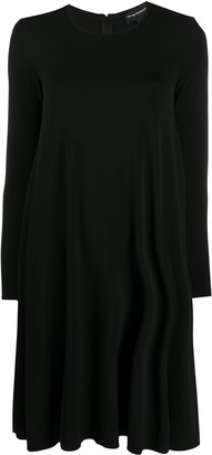 Emporio Armani Round Neck Shift Dress