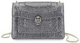 Bvlgari Mini Metallic Karung Serpenti Forever Cross Body Bag