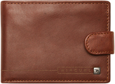 Rip Curl Laser Clip Rfid All Day Leather Wallet Brown