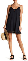 Volcom Scoop Da Loop Criss-Cross Strap Woven Dress