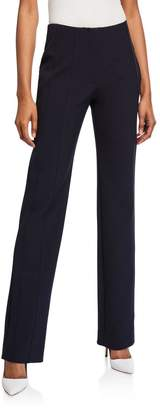Victoria Victoria Beckham Paneled Straight-Leg Trousers