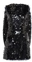 Nervi Marina Cape-Effect Sequined Chiffon Mini Dress