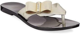 Jason Wu Melissa Shoes x Girl Chrome Bow Sandals