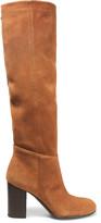 Sam Edelman Silas Suede Knee Boots - Tan