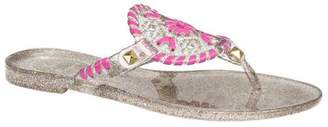 Jack Rogers Toddler's & Kid's Miss Sparkle Georgica Jelly Sandals