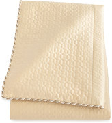 Dian Austin Couture Home Neutral Modern King Quilted Silk Duvet Cover