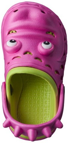 Toddler Girl's Later Gator Clogs - Pink
