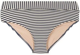 Marlies Dekkers Striped Fold-Down Style Bikini Bottoms