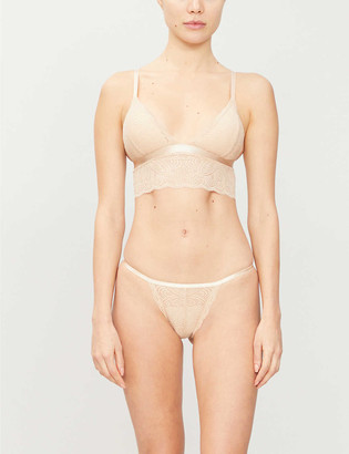 Underprotection Luna stretch-lace bralette