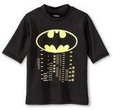 Batman Boys' Rashguard - Black