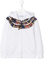 Marcelo Burlon County Of Milan Kids - Mini Me hoodie - kids - Cotton/Polyester - 2 yrs