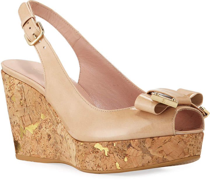 d472b34d62f3 Stuart Weitzman Slingback Wedge Women's Sandals - ShopStyle