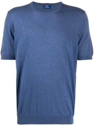 Barba solid-color knitted T-shirt