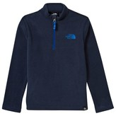 The North Face Navy Youth Glacier 1/4 Zip Sweater