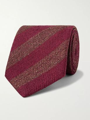 Charvet 7.5cm Striped Silk Tie