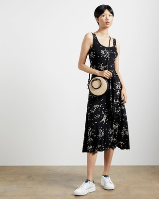 Ted Baker Ditsy Floral Midi Dress