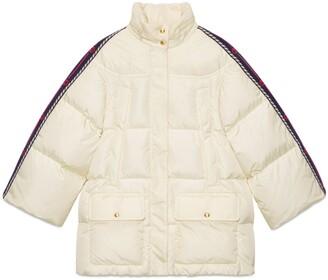 Gucci Nylon jacket with Web