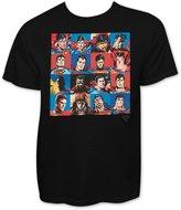 Superman Faces Men's T-Shirt