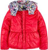 Junior Gaultier Reversible padded coat