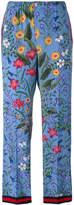 Gucci New Flora pajama trousers