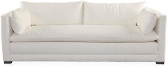 "One Kings Lane Ellice 92"" Sofa - Natural White"