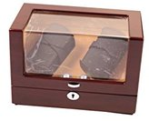 Lindberg & Sons Watch winder Brown for 4 self-winding watches UB8117brkh
