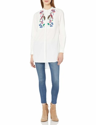 French Connection Women's Rothko Cotton Top