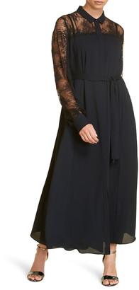Marina Rinaldi Dipinto Long Sleeve Maxi Dress