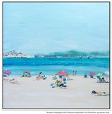 United Artworks Cote D Azur Canvas Painting With Floating Frame