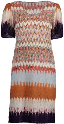 Missoni Flutter Sleeve Sheath Dress
