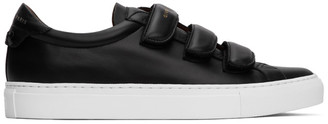 Givenchy Black Velcro Urban Knots Sneakers