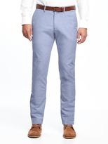 Old Navy Slim Signature Built-In Flex Oxford Dress Pants for Men