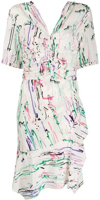 Isabel Marant Arodie ruffled dress