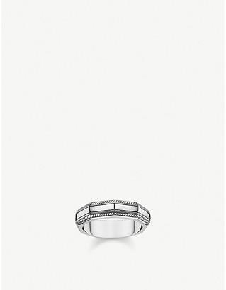 Thomas Sabo Angular sterling silver band ring